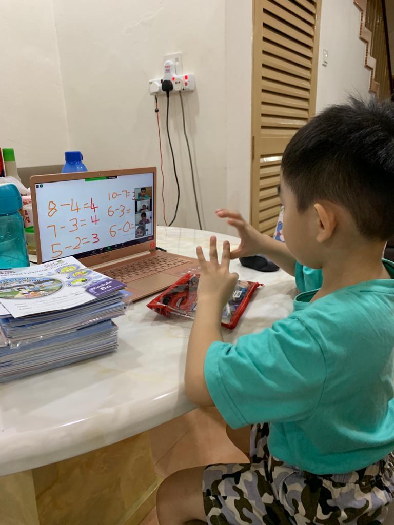 blending fun, online preschool malaysia