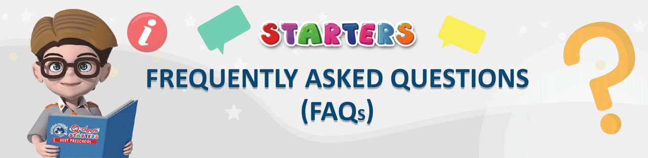 Frequently asked questions Q-dees Starters